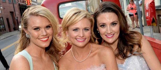 Nicolle Galyon, Miranda Lambert & Natalie Hemby