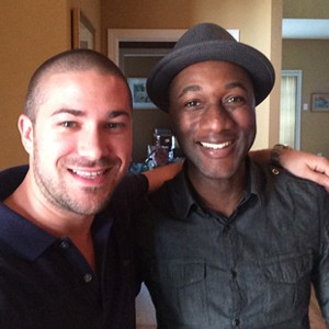 John Ehmann and Aloe Blacc.