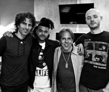 Stephan Moccio, The Weeknd, Dave Retinas (mixer), Jay Paul Bicknell (Moccio'e engineer).