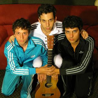 Captain Cuts: Ben Berger, Ryan Rabin & Ryan McMahon.