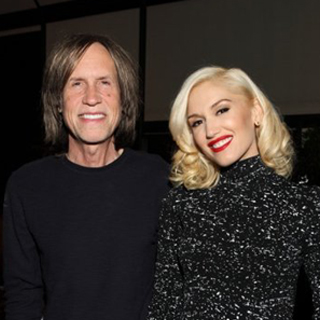 Glen Ballard with Gwen Stefani.