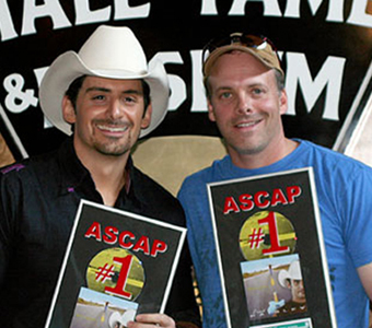 Brad Paisley and Kelley Lovelace