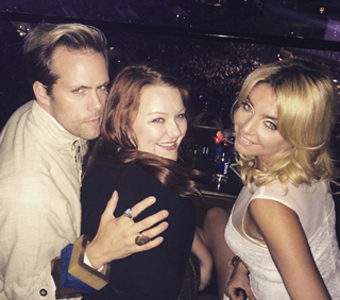 Justin Tranter, Audra Mae and Katie Vinten.