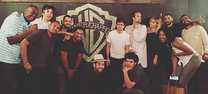 Warner/Chappell team photo: Jon Platt, Juan Madrid, Ryan Rabin, Marc Wilson, Ryan Press, Ross Golan, Ben Berger, Ryan McMahon, Justin Tranter, Katie Vinten, Priscilla Renea, Ilya Salmanzadeh and Ali Payami.