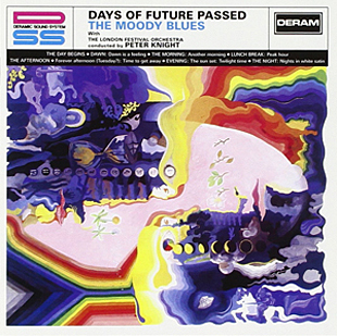 The cover of the Moody Blues' classic album, Days of Future Passed.