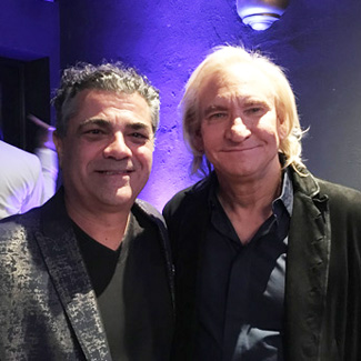 Evyen Klean and Joe Walsh