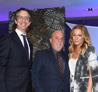 David Israelite, Billy Joel and LeAnn Rimes.