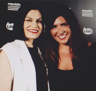 Jessie J and Emily Warren