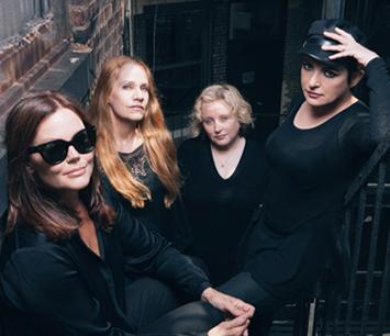 The Go-Go's: Belinda Carlisle, Charlotte Caffey, Gina Schock and Jane Wiedlin.
