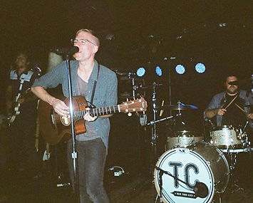Nate Cyphert with his band, This Condition.
