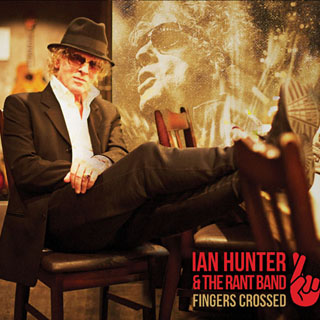 The cover of Ian Hunter's new album, <em>Fingers Crossed</em>.