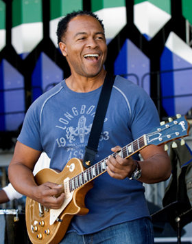 Ray Parker Jr. performing live.