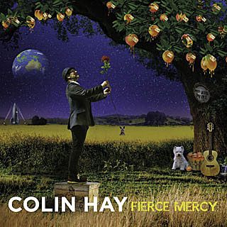 The cover of Colin Hay's new album, Fierce Mercy.