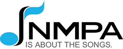 The logo of the National Music Publishers Association (NMPA).
