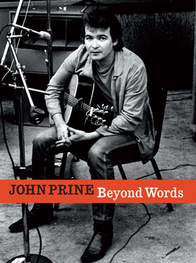 The cover of John Prine's book, <em>Beyond Words</em>.