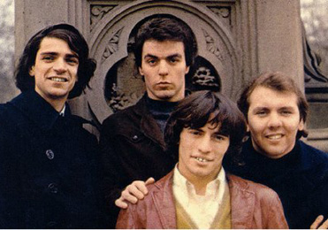 The Rascals in the late 1960s. Piotured left: Felix Cavaliere.