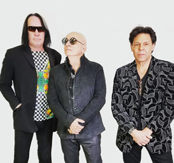 Todd Rundgren, Willie Wilcox and Kasim Sulton.