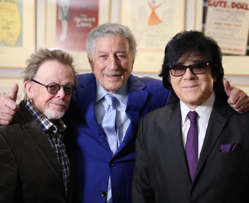 Paul Williams, Tony Bennett and John Titta