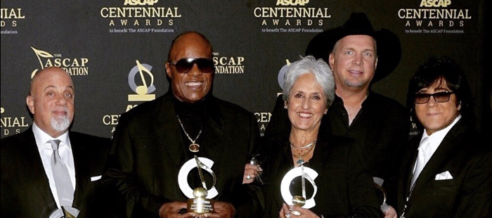 Billy Joel, Stevie Wonder, Joan Baez, Garth Brooks and John Titta.