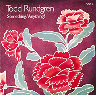The cover of Todd Rundgren's classic album, Something/Anything?