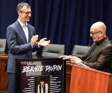 David Israelite and Bernie Taupin