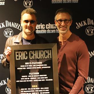 David Israelite and Eric Church