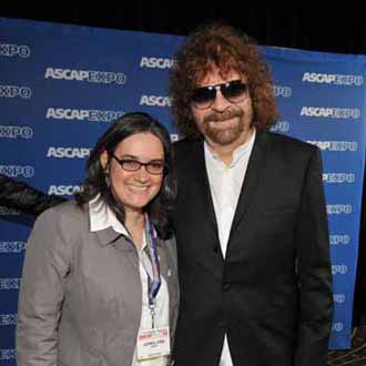 Lauren Iossa and Jeff Lynne