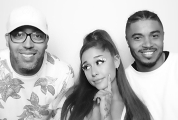 Mr. Franks, Ariana Grande and Tommy Brown
