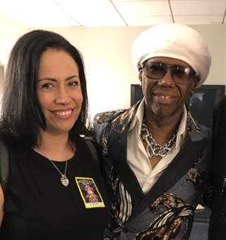 Alex Flores and Nile Rodgers